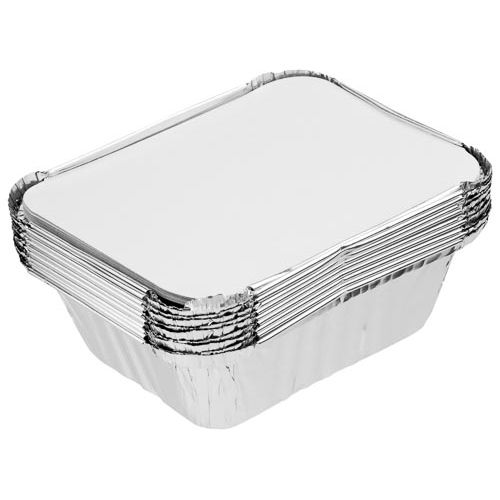 Small Foil Containers With Lids 10pk