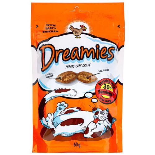 Dreamies Chicken Pouch 60g