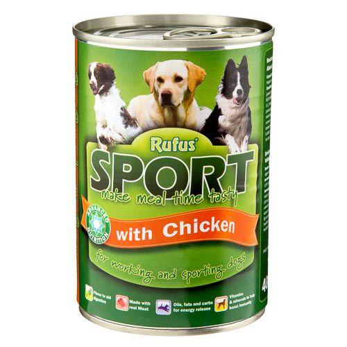 Rufus Dog Food Chicken 400g