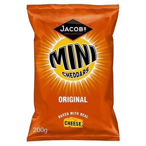 JACOB'S MINI CHEDDARS ORIGINAL 200G