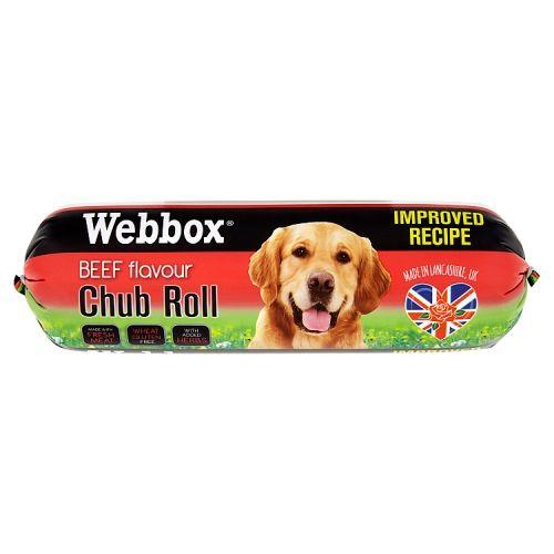 Webbox Chub Dog Roll Beef 800g