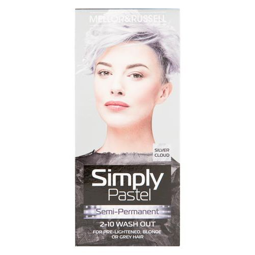 MELLOR & RUSSELL SIMPLY BRIGHT HAIR COLOUR SILVER