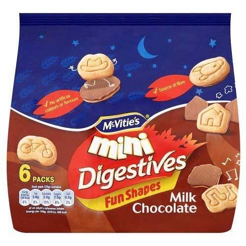 McVities Mini Choc Digestives 150g