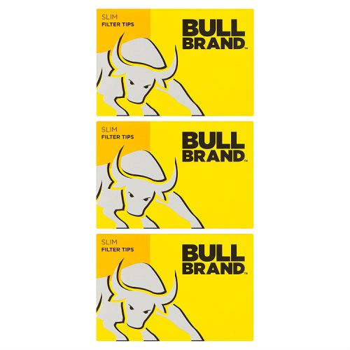 Bull Brand Slim Filter Tips 3 Pack