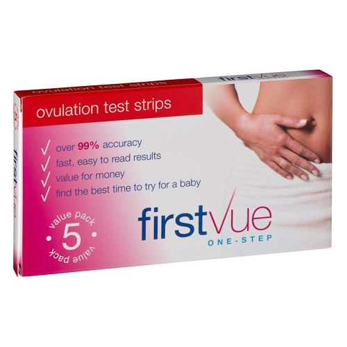 FIRSTVUE OVULATION TEST 5 PACK