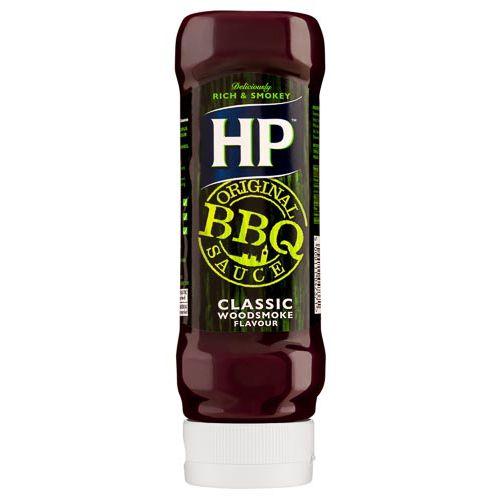 HP BBQ WOODSMOKED 465G