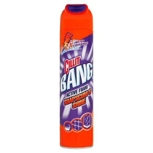 Cillit Bang Active Foam Soapscum & Shine 600ml