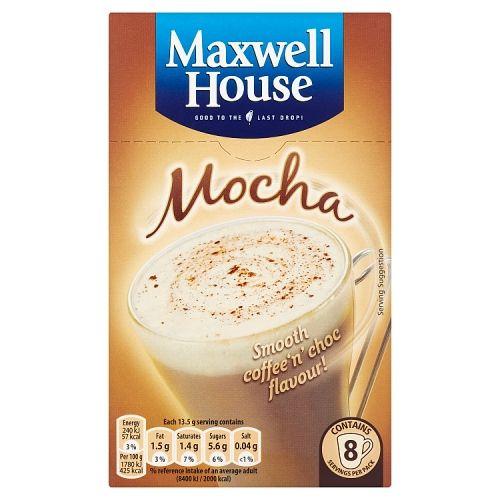 Maxwell House Classic Mocha 8 Pack