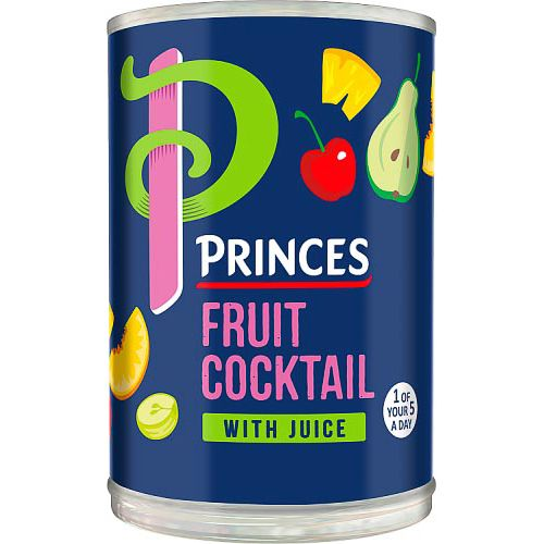 PRINCES FRUIT COCKTAIL IN JUICE 410G