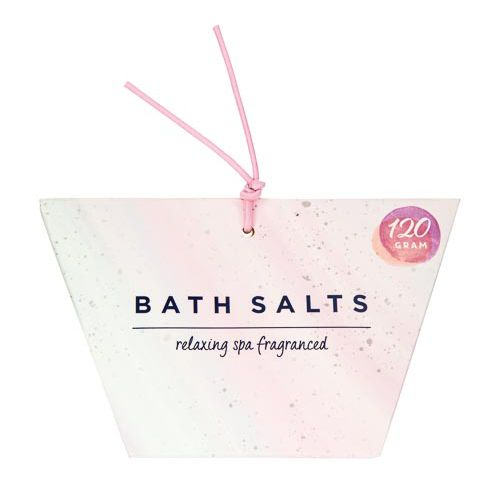 BATH SALT IN PAPER BAG 120G