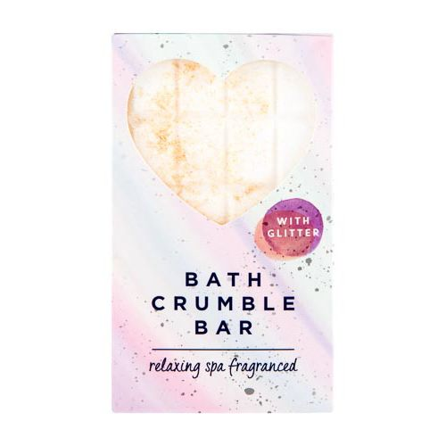 Bath Crumble Bar With Glitter