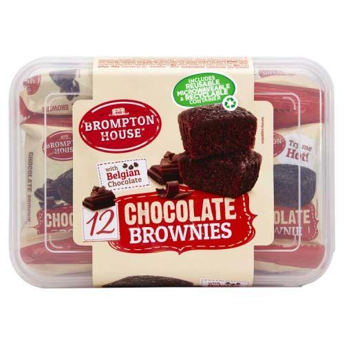 Chocolate Brownies 12 Pack + 2 Free