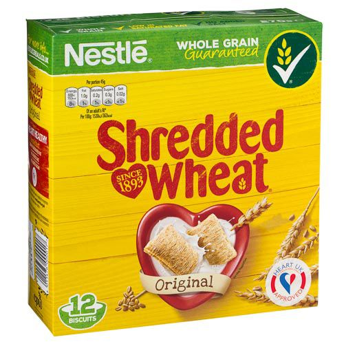 NESTLE SHREDDED WHEAT BISCUITS 12 PACK