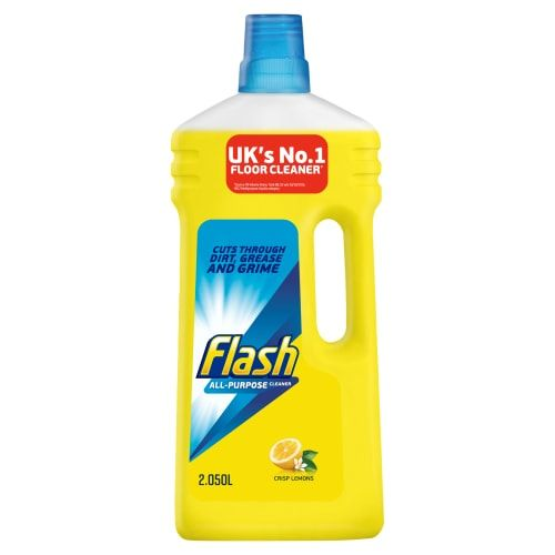 FLASH LIQUID LEMON MULTI SURFACE CLEANER 2.050