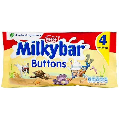 Nestle Milkybar Buttons 4 Pack