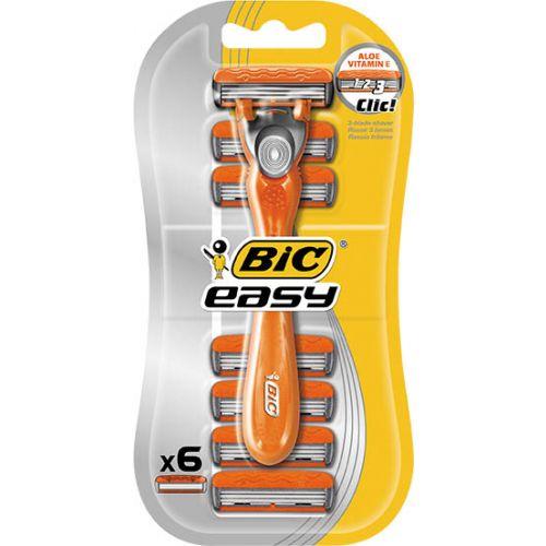 Bic 3 Easy Hybrid Razor Blister 6 Pack