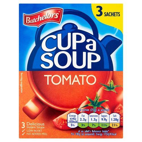 Batchelors Cup A Soup Tomato 3 X 68g