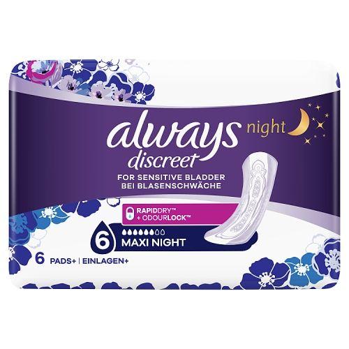 Always Discreet Night 6 Pack