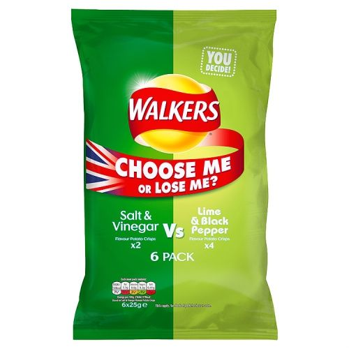 6PK WALKERS S&V VS LIME&BLACKP