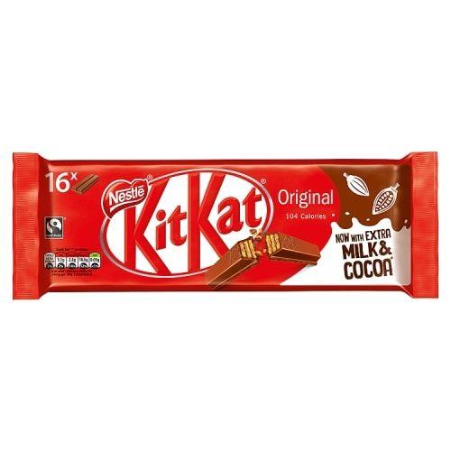 Kit Kat 2 Finger Milk Chocolate 16 Pack