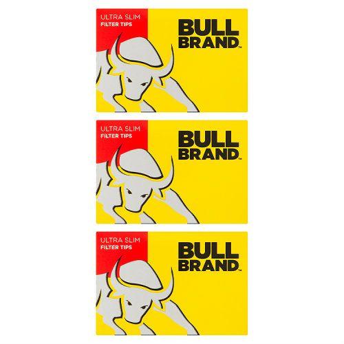 Bull Brand Ultra Slim Filter Tips 3 Pack
