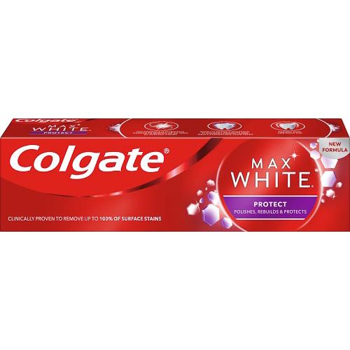 COLGATE MAX WHITE PROTECT WHITENING TOOTHPASTE