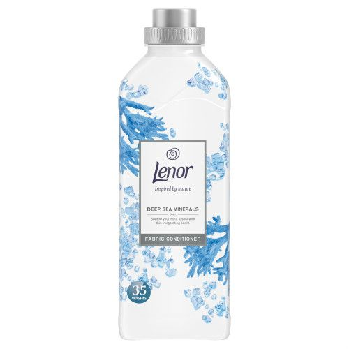 LENOR FABRIC CONDITIONER DEEP SEA MINERALS 35 WASH