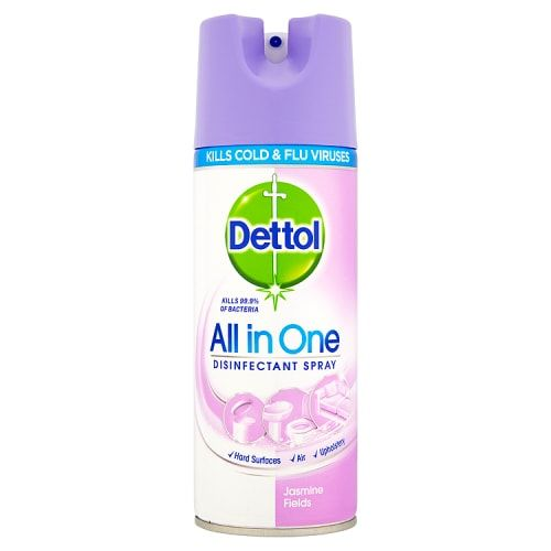 DETTOL ALL IN ONE DISINFECTANT SPRAY JASMINE 400ML