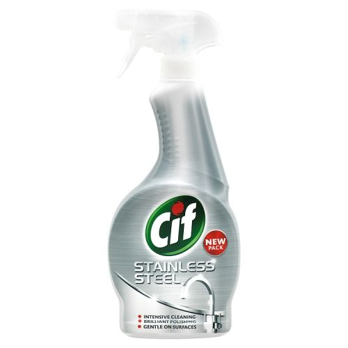 CIF STAINLESS STEEL SPRAY 450ML
