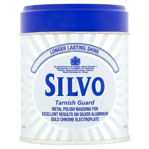 SILVO METAL POLISH WADDING 75G