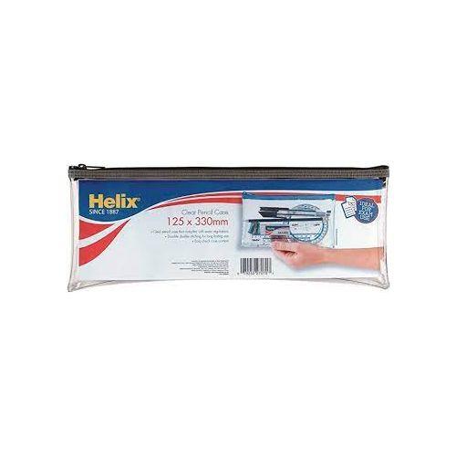 HELIX CLEAR PENCIL CASE