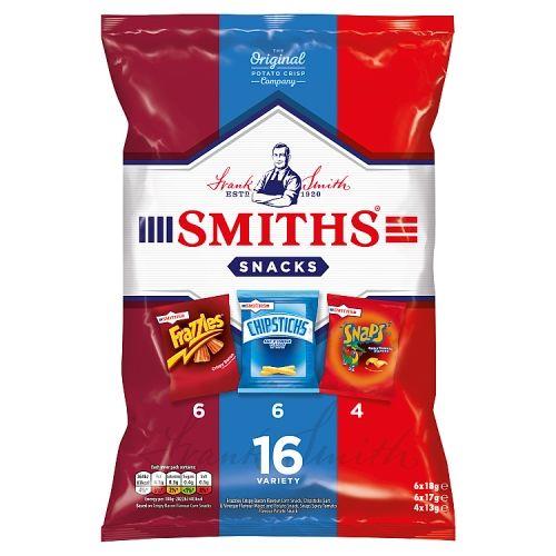 Smiths Snacks Variety 16pk