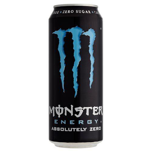 MONSTER ENERGY ABSOLUTE ZERO 500ML