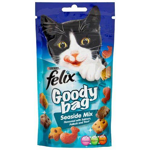 FELIX CAT GOODY BAG SEASIDE TREATS 60G