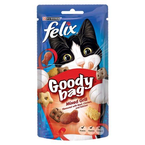 FELIX GOODY BAG CAT TREATS ORIGINAL 60G