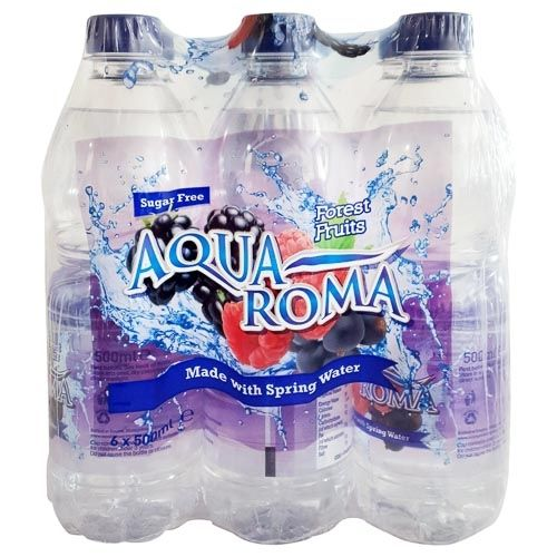 AQUA ROMA FOREST FRUIT WATER 6 PACK