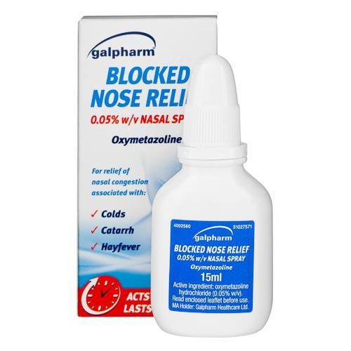GAL BLOCKED NOSE RELIEF