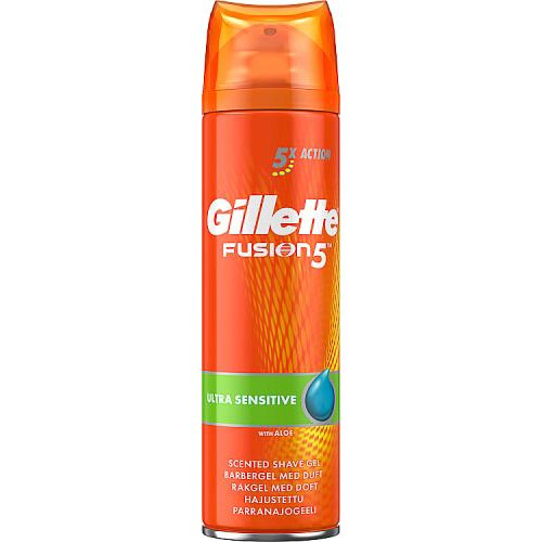 Gillette Fusion Shave Gel Ultra Sensitive 200ml