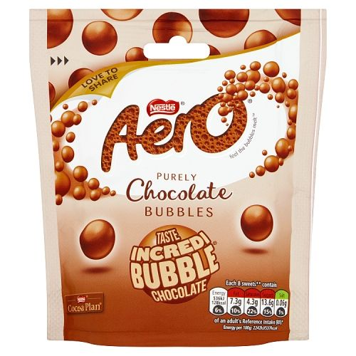 Aero Bubbles Milk Pouch 102g