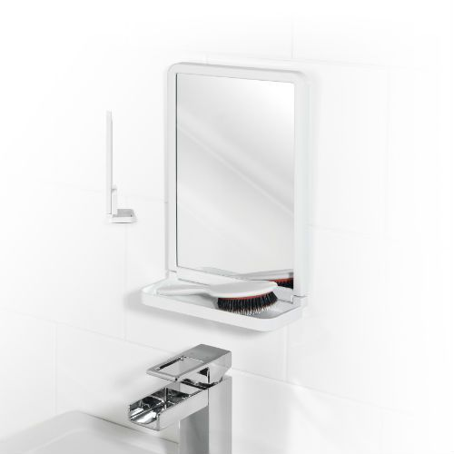 Square Suction Mirror