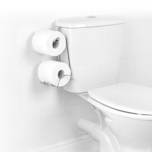 OVER TANK TOILET ROLL HOLDER