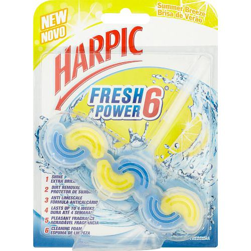 HARPIC FRESH POWER 6 ITB SUMMER BREEZE 39G