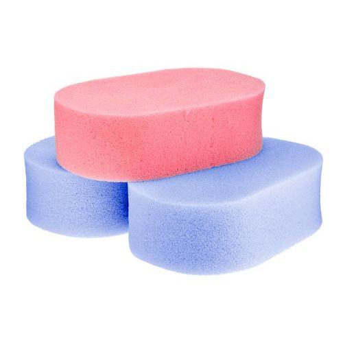 Coral Bath Sponges 3pk