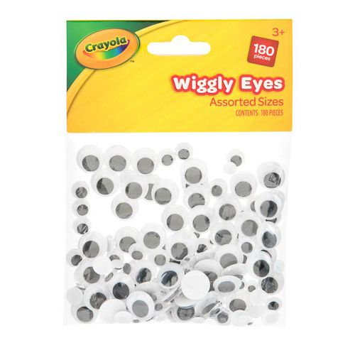 Crayola Wiggly Eyes 180pk
