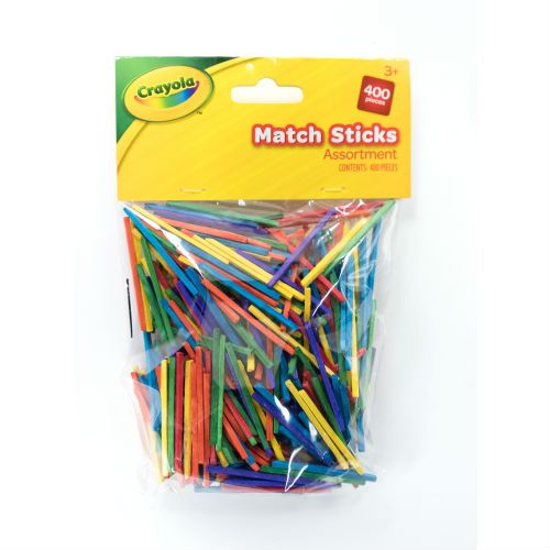 CRAYOLA COLOUR MATCHSTICKS 400