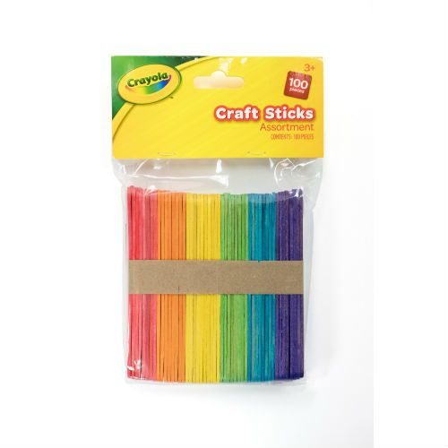 CRAYOLA COLOUR LOLLY STICK 100