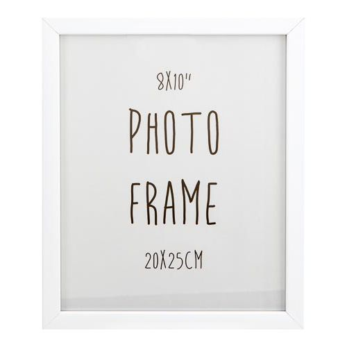 "Photo Frame White 8""x10"""