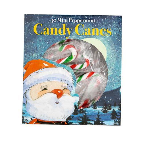 Mini Candy Canes 30 Pack