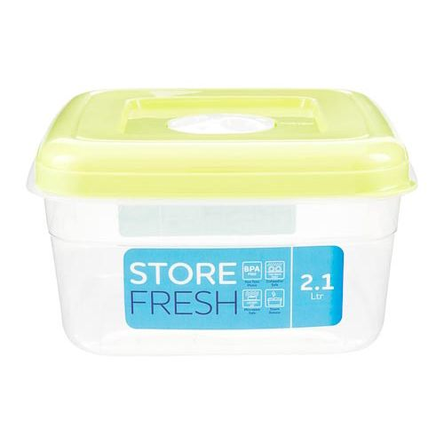 Food Container Square 2.1l