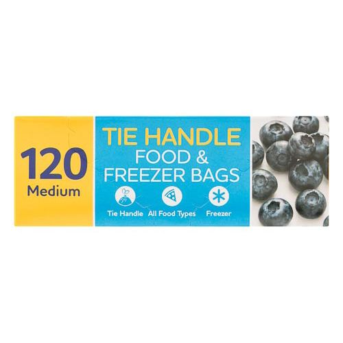 Tie Handle Food Bags 120 Pack